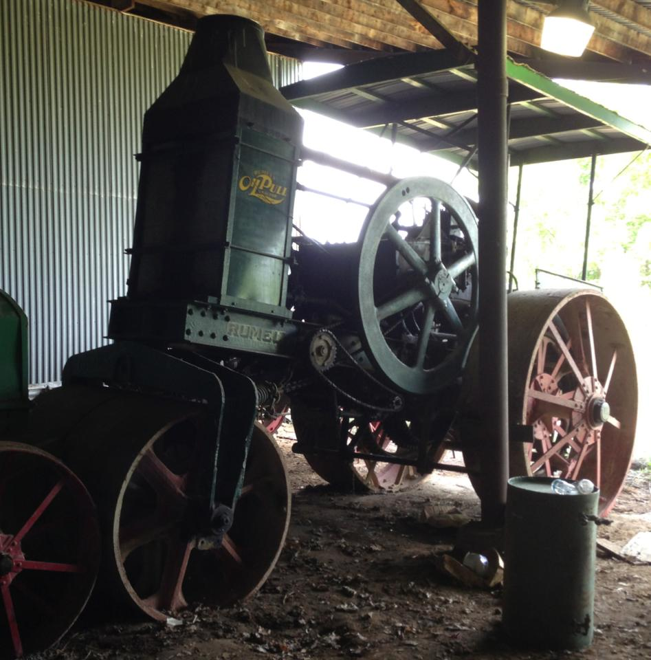 My grandpa's Rumely Road Roller today. Jack sold it when I was a high schooler. Now's your chance to buy a one-of-a-kind (If I'm remembering right, it was a prototype.) Jim Erdle of Canandaigua, NY. is auctioning it September 21st.